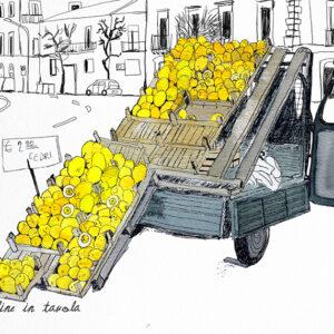 Cartoline in Tavola | Lucia Scuderi - Illustratrice, autrice, pittrice