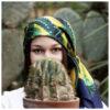 Foulard Euphorbia Oro | Lucia Scuderi