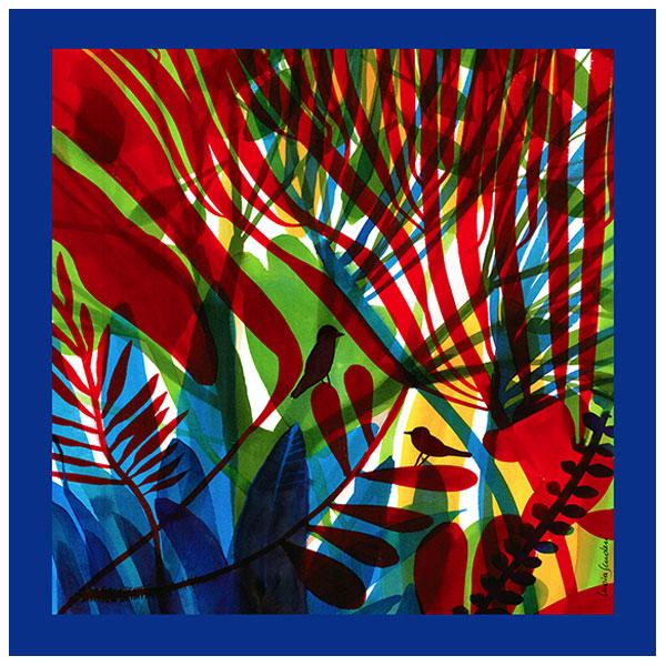 Foulard Rifugio nei colori | Lucia Scuderi